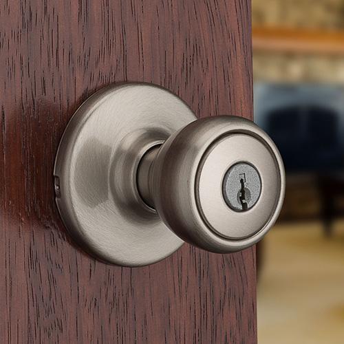 Offers Kwikset Door Hardware Kwi 241236 Door Knob Satin Nickel Kwikset Door
