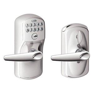 DoorKnobsOnline.com Offers: Schlage SHL-120034 Door Lever Satin ...