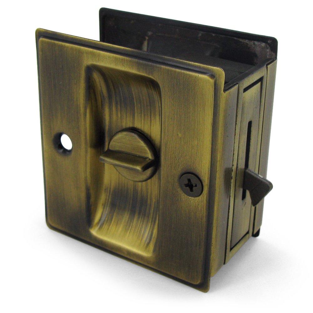 Doorknobsonline Offers Deltana Del 86101 Pocket Door Antique