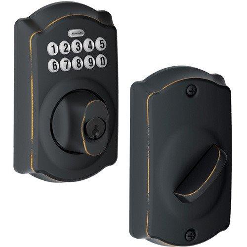 Offers Schlage Shl 275678 Aged Bronze Schlage Door Hardware Electronic