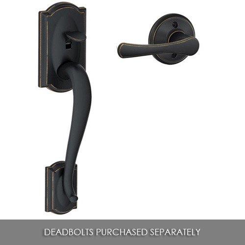 Offers Schlage Shl 119944 Handleset Aged Bronze Schlage Door Hardware