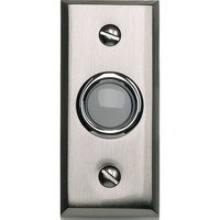 Atlas Homewares - Doorbell - Button Door Bell in Brushed Nickel