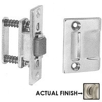 Baldwin Hardware - Satin Nickel - Roller Latch with Full Lip Strike in Satin Nickel