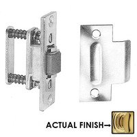 Baldwin Hardware - Estate Door Accessories - Roller Latch with T Strike in Satin Nickel