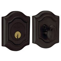 Baldwin Hardware - Bethpage - Single Cylinder Deadbolt in Oil Rubbed Bronze