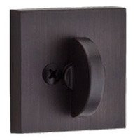 Baldwin Hardware - Reserve Contemporary - Patio (One-Sided) Square Deadbolt in Venetian Bronze