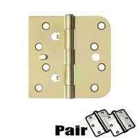 "Deltana Hardware - Steel Hinges - 4""x 4""x 5/8""x Square Hinge (SOLD AS A PAIR) in Oil Rubbed Bronze"
