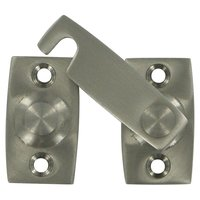 "Deltana Hardware - Solid Brass Shutter Door Latches - Solid Brass 7/8"" Shutter Bar/Door Latch in Satin Nickel"