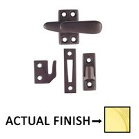 Emtek Hardware - Door Accessories - Casement Latch Standard With 3 Strikes in Oil Rubbed Bronze