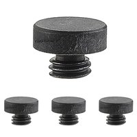 "Emtek Hardware - Door Accessories - Button Tip Set for 4"" Heavy Duty Plain or Ball Bearing Hinge in Oil Rubbed Bronze"