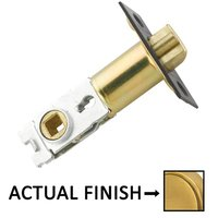 "Emtek Hardware - Door Accessories - Key In Latch with 2 3/8"" Backset in Polished Brass"