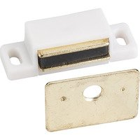 Hardware Resources - Shutter Hardware - 15 lb Magnetic Catch in White