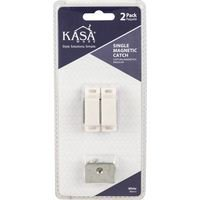 Kasaware - Functional Hardware - (2pc Pack) Double Magnetic Catches in White