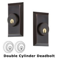 Nostalgic Warehouse - Studio - Double Deadbolt - Studio Deadbolt in Timeless Bronze