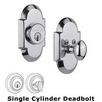 Nostalgic Warehouse - Cottage - Single Deadbolt in Bright Chrome