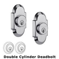 Nostalgic Warehouse - Cottage - Double Deadbolt in Bright Chrome