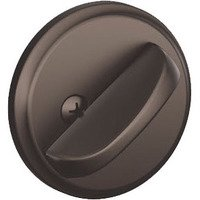 Schlage Door Hardware - Deadbolts - B80 Series - One Sided Deadbolt in Oil Rubbed Bronze