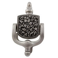 Vicenza Hardware - San Michele - Floral in Satin Nickel